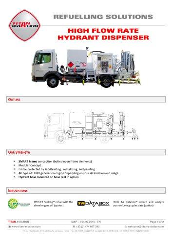 250 m3/h hydrant dispensers