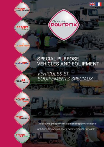 SPECIAL PURPOSE VEHICLES AND EQUIPMENT