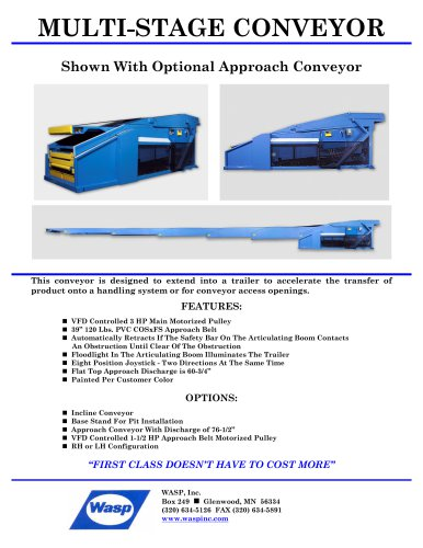 MULTI-STAGE CONVEYOR