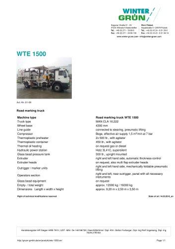 WTE 1500