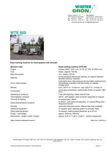 WTE 850