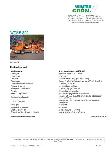 WTSE 800