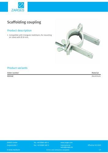 Scaffolding coupling