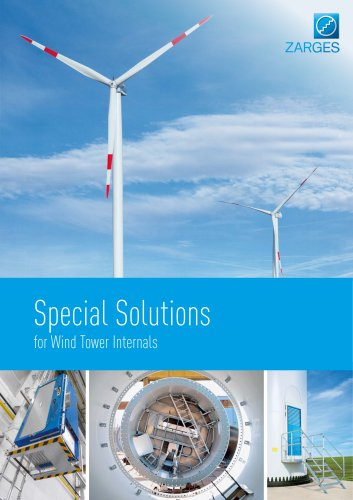 Special Solutions for Wind Tower Internals