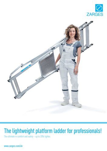 The lightweight platform ladder for professionals!