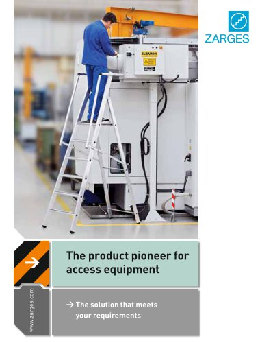 The product pioneer for access equipment