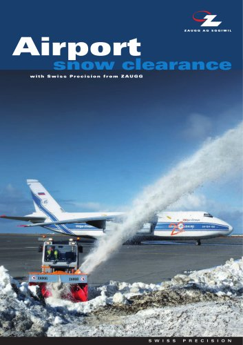 Airport snow clearance
