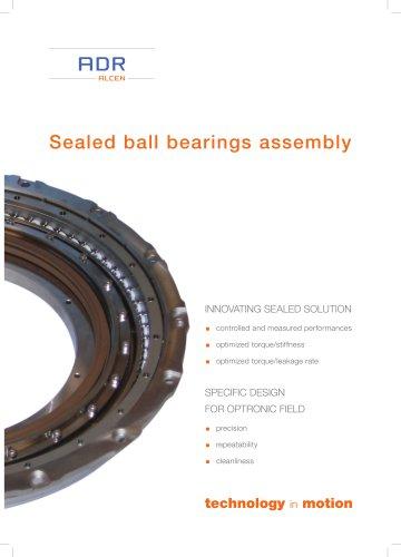 Sealed ball bearings assembly