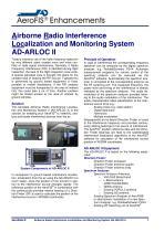 AeroFIS® Enhancements - Airborne Radio Interference Localization and Monitoring System AD-ARLOC II