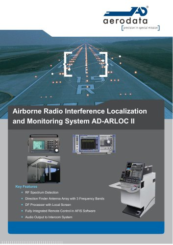 Airborne Radio Interference Localization and Monitoring System AD-ARLOC II