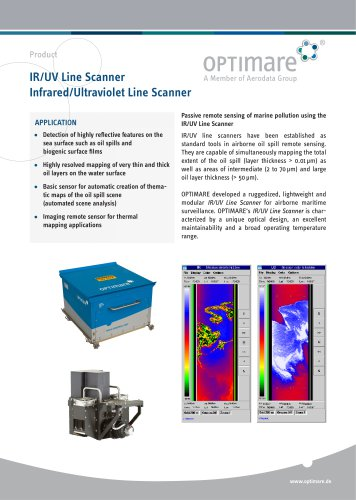 IR/UV Line Scanner Infrared/Ultraviolet Line Scanner