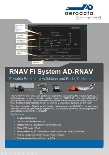 RNAV FI System AD-RNAV