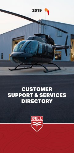 CUSTOMER SUPPORT & SERVICES DIRECTORY