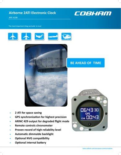 Airborne 2ATI Electronic Clock