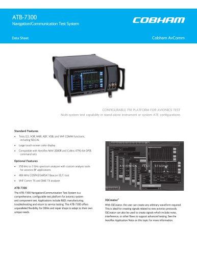ATB-7300 Navigation/Communication Test System
