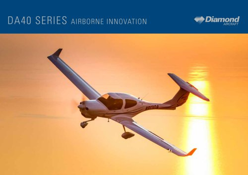 DA40 SERIES AIRBORNE INNOVATION