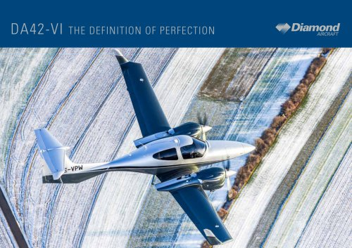 DA42-VI THE DEFINITION OF PERFECTION