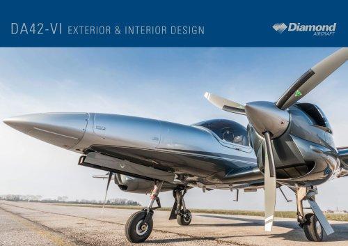 DA42-VI EXTERIOR & INTERIOR DESIGN