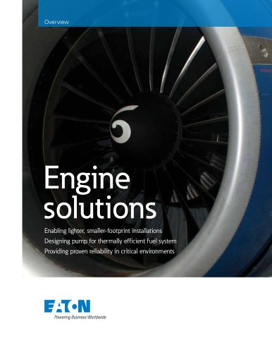 Engine solutions