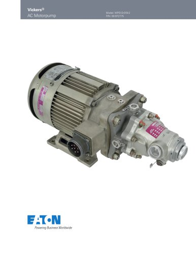 Vickers ® AC Motorpump