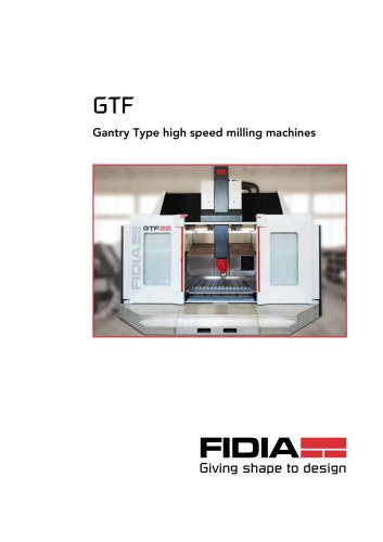 GTF Gantry Type high speed milling machines