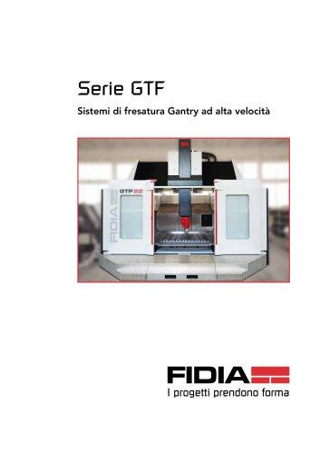 Serie GTF Sistemi di fresatura Gantry ad alta velocità