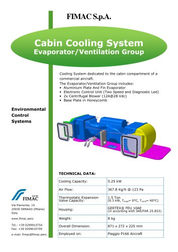 Cabin Cooling System