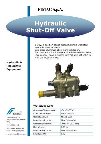 Hydraulic Shut-Off Valve