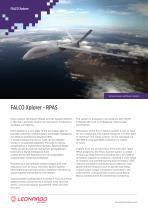 FALCO Xplorer - RPAS