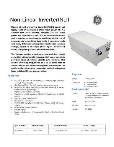 Non-Linear Inverter(NLI)