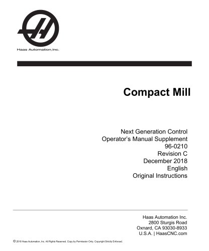 Compact Mill