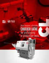 Small-footprint, affordable CHUCKER LATHE for prototyping or production work CL - 1