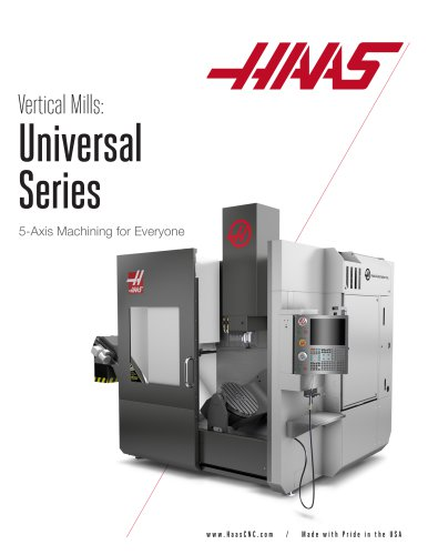 Vertical Mills Universal Series