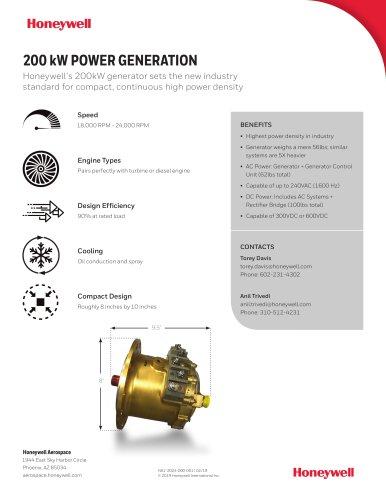 200 kW POWER GENERATION