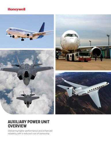 AUXILIARY POWER UNIT  OVERVIEW