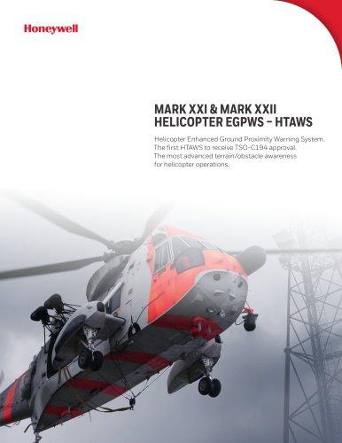 MARK XXI & MARK XXII HELICOPTER EGPWS – HTAWS