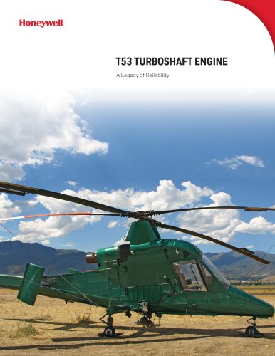 T53 TURBOSHAFT ENGINE