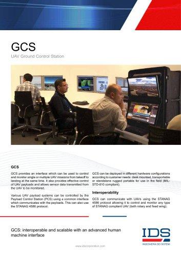 GCS- Ground Control Station