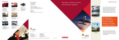 Solutions in Motion Control and Vibration Isolation