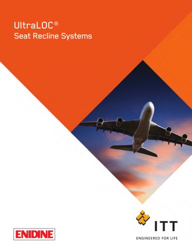 UltraLOC™ Seat Recline Systems