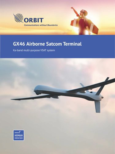 GX46 Airborne Satcom Terminal