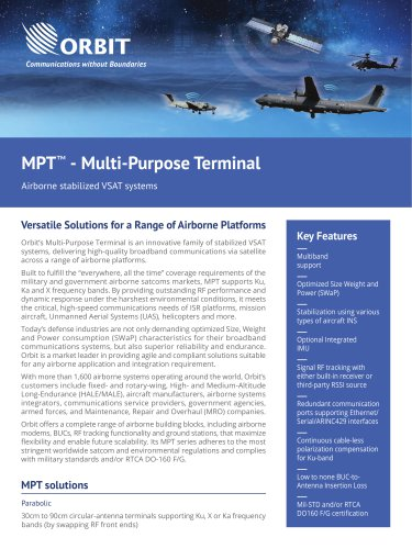 MPT™ - Multi-Purpose Terminal