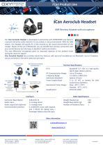 i Can Aeroclub Headset