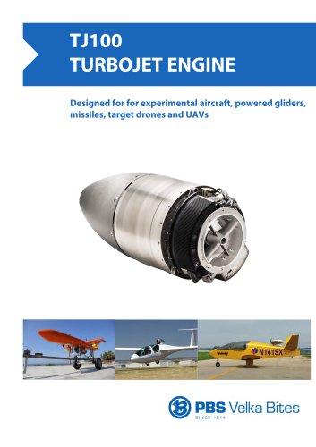 PBS Turbojet engine TJ100