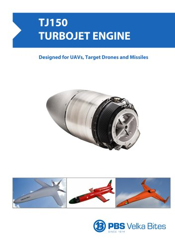PBS Turbojet engine TJ150