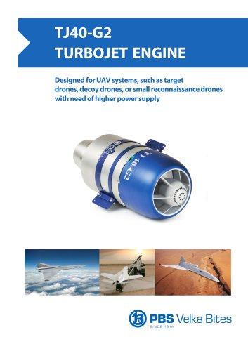 PBS Turbojet engine TJ40-G2