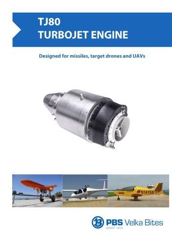 PBS Turbojet engine TJ80