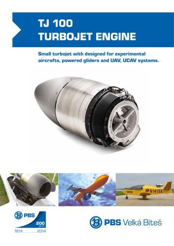 TJ-100-turbojet-engine