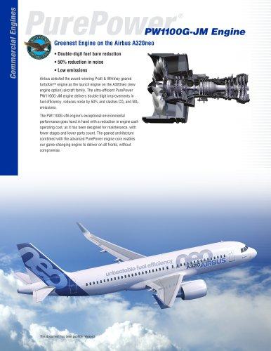 PW1100G-JM Engine