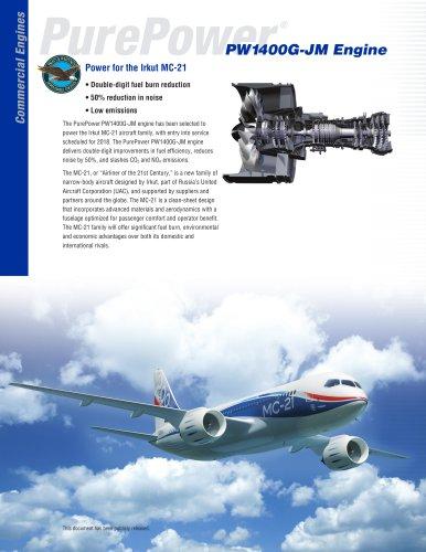PW1400G-JM Engine